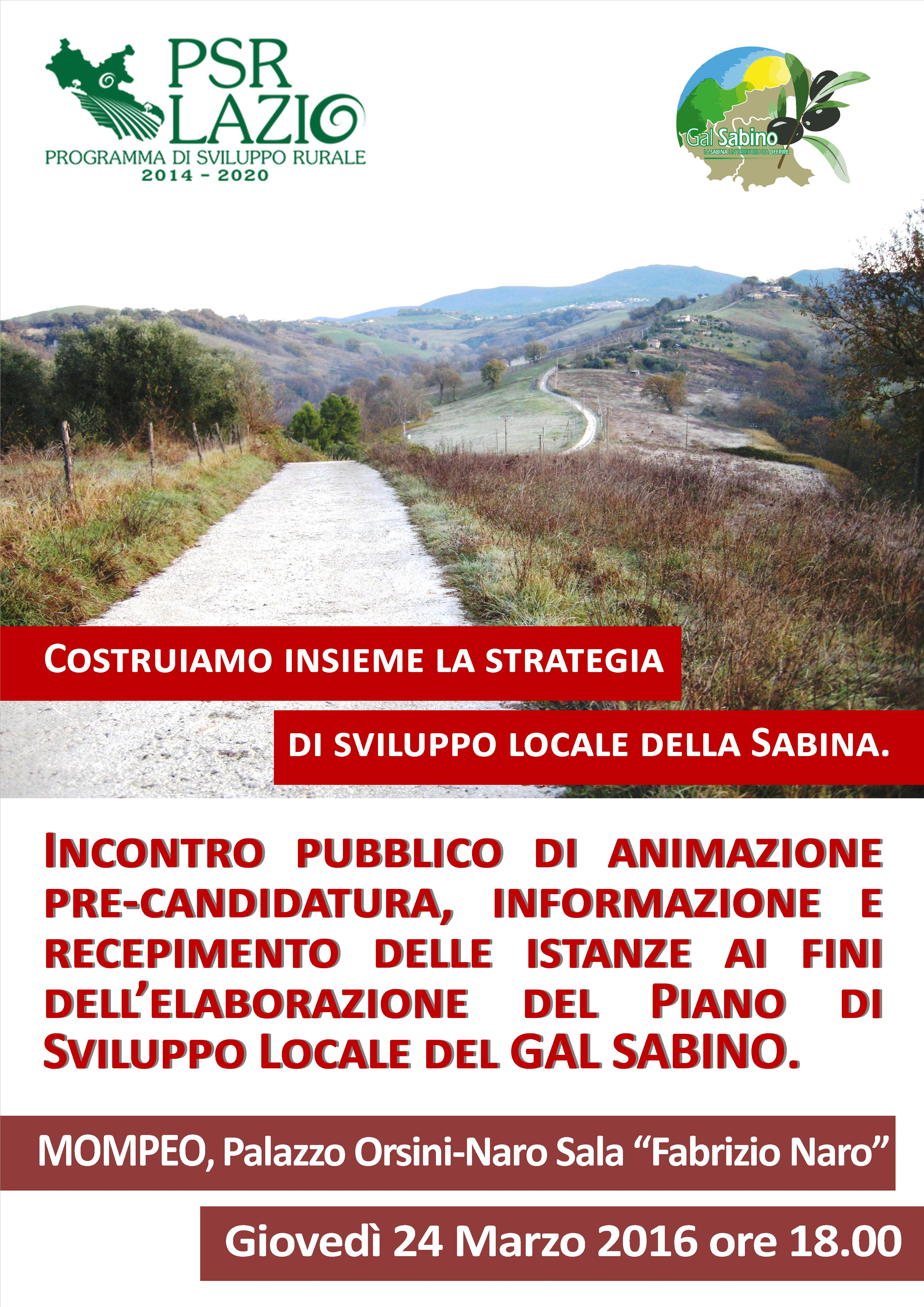 Benvenuto nel sito istituzionale del comune di mompeo for Creatore del piano del sito